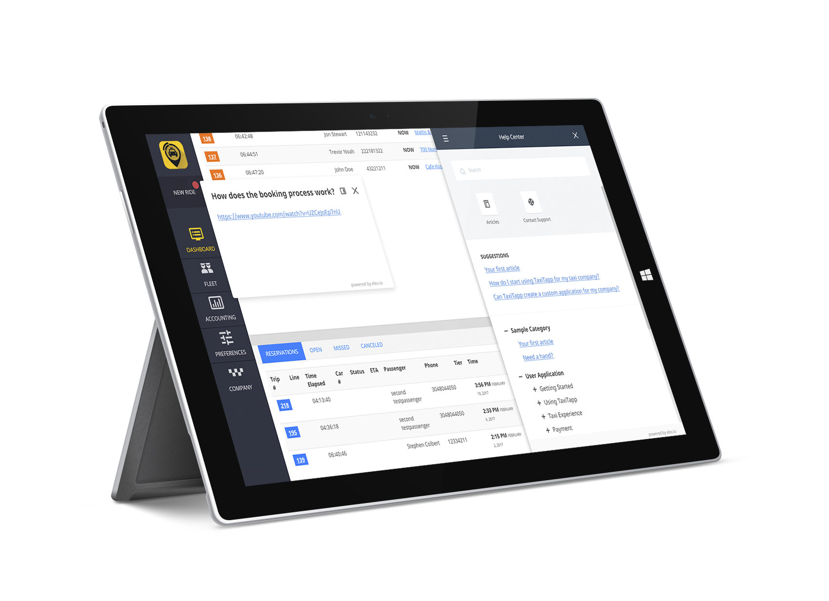 TaxiTapp | Mobile Taxi Booking Platform